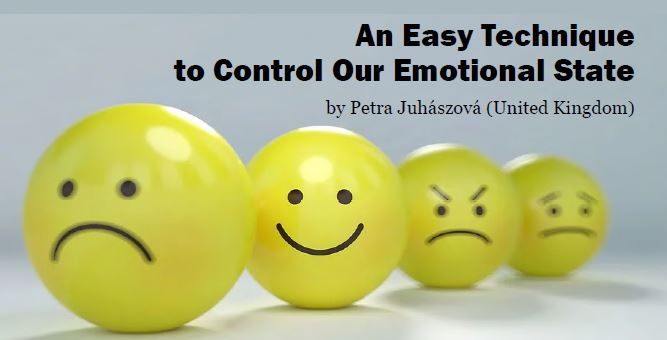 An easy technique to control our emotional state, article, holistic coaching in London UK