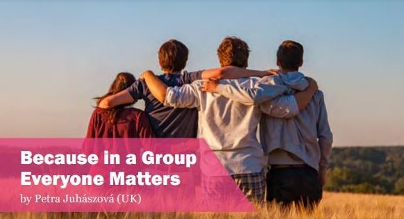 Because in a group everyone matters, holistic, life coaching, transformation, in London UK
